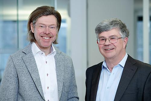 Mag. Markus Herburger, Dr. jur. Eduard Frei